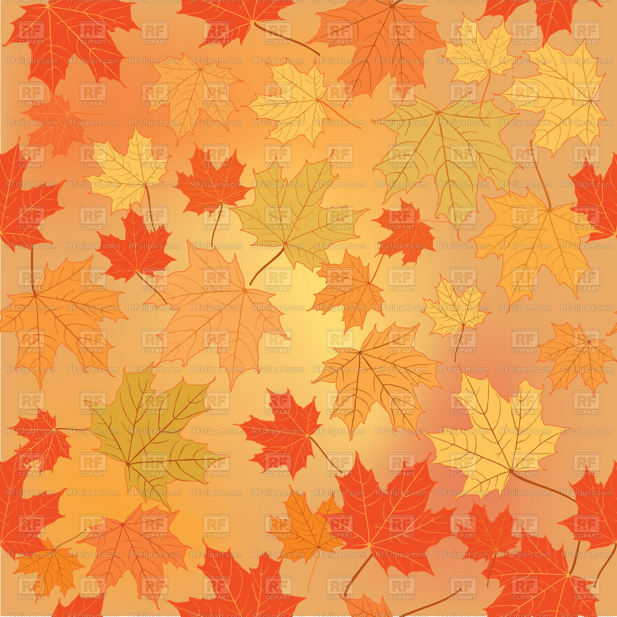 Fall leaf nature autumn leaves background Stock Vector Image.