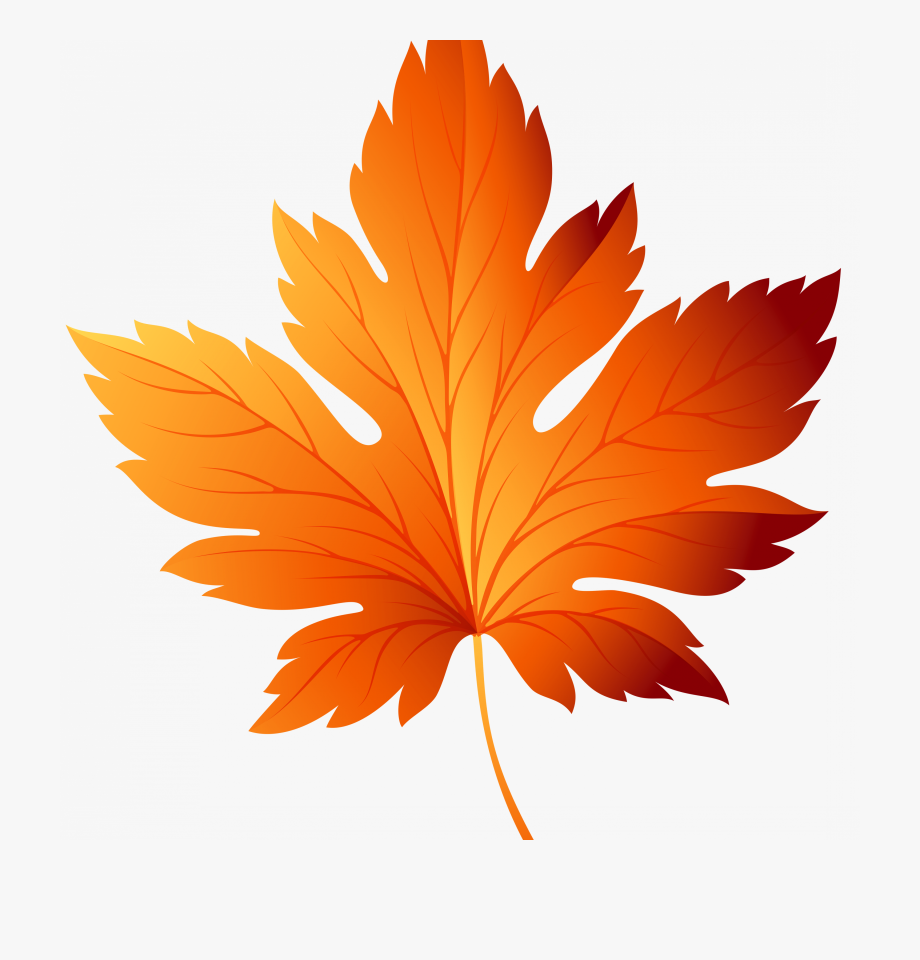 Fall Leaves Background Clipart.