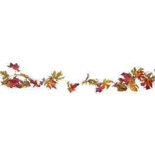 Free Clip Art Leaf Garland.
