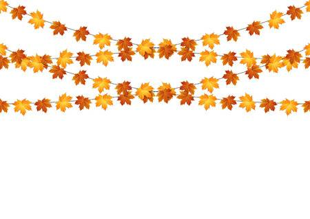 21,635 Fall Leaves Border Cliparts, Stock Vector And Royalty Free.