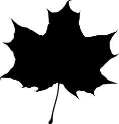 autumn silhouette art.