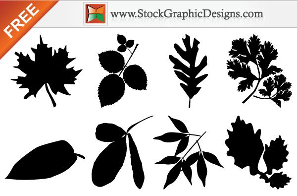 Autumn Leaf Silhouette Clip Art Images Free.