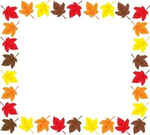 Fall Borders Clipart.