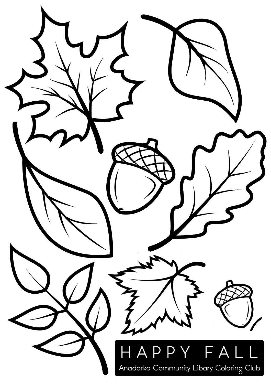 Coloring Pages : Autumn Coloring Pagesable Free Fall Leaves For Kids.