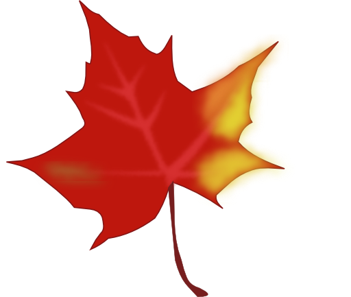 Falling Leaves Clip Art.
