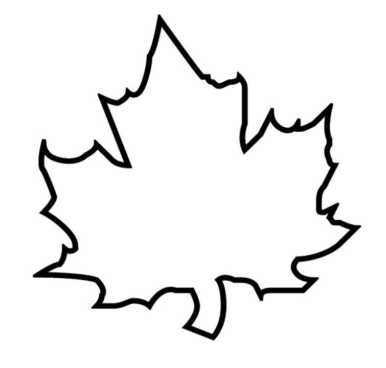 Free Autumn Leaf Outline, Download Free Clip Art, Free Clip Art on.