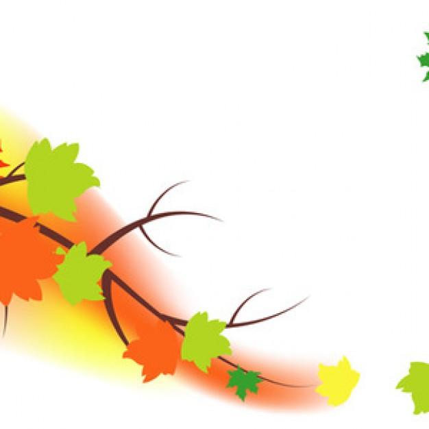 Autumn season wind fall logo vector.