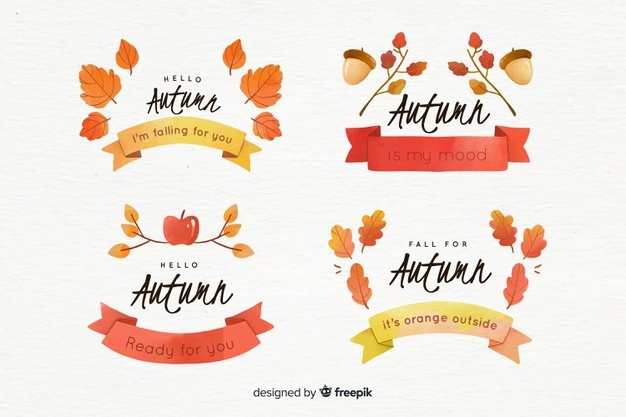 Autumn Vectors, Photos and PSD files.