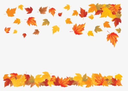 Free Falling Leaves Clip Art with No Background , Page 5.