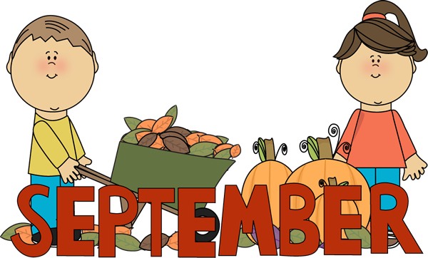 September Fall Free Clipart.