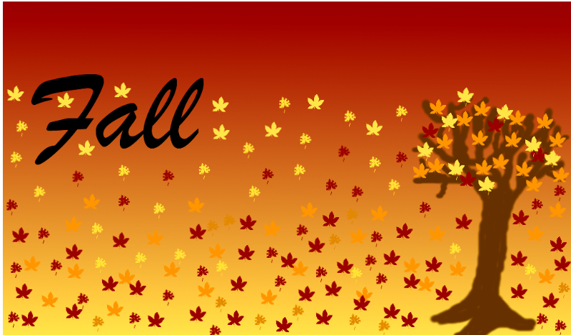 Free Clipart: Seasons of the Year: Fall.