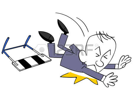 Fall Over Cartoon Stock Photos Images. Royalty Free Fall Over.