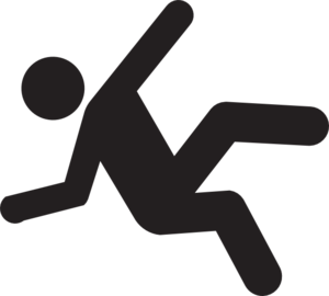 Falling Down Clipart.