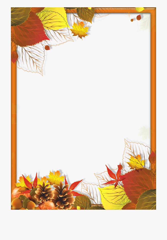 Autumn Border Png.