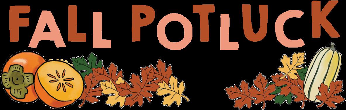 Autumn Clipart Potluck.