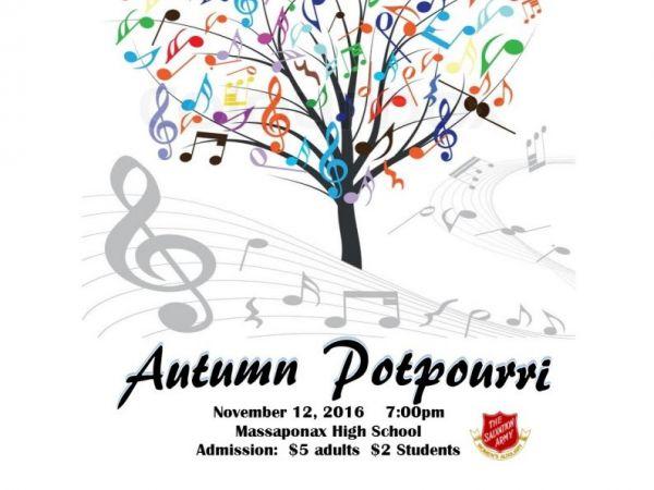 Fredericksburg Community Concert Band's Fall Concert.