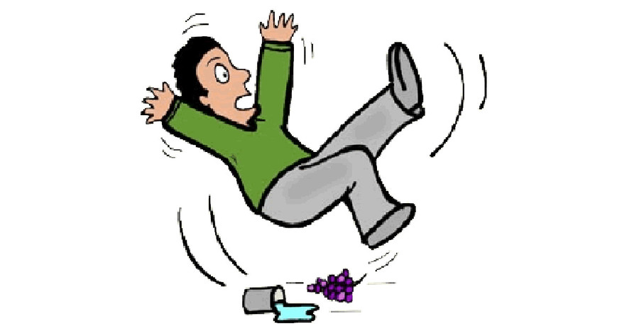 Download fall down clipart Falling Fall prevention Clip art.