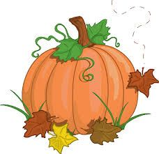 Cute Pumpkin Clip Art.