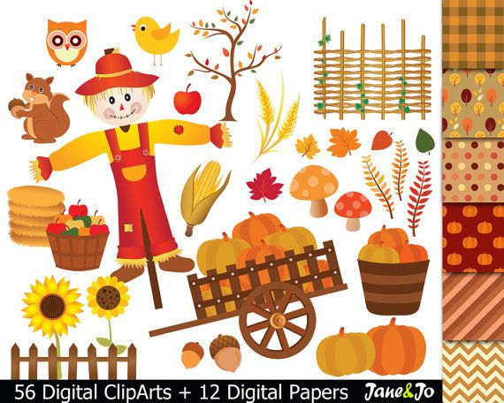 25+ best ideas about Fall Clip Art on Pinterest.