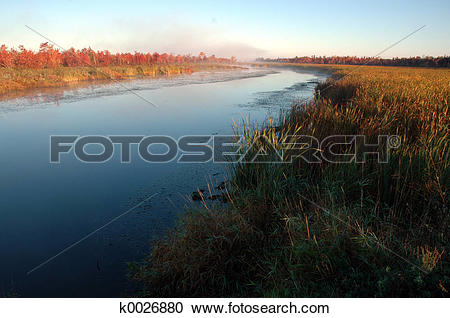 Stock Photography of Fall River k0026880.