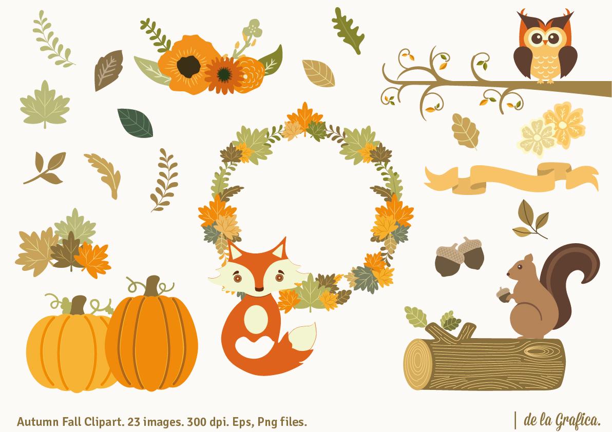 Fall Autumn Clipart.