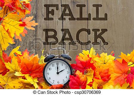 Fall Back Time Change.