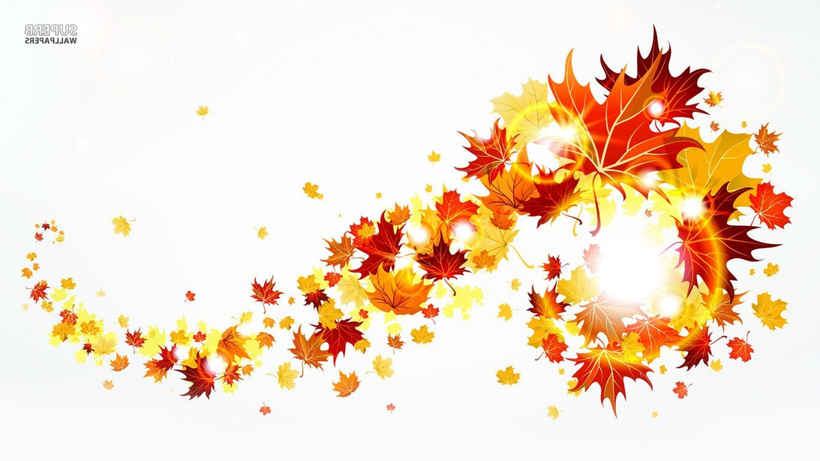 Excellent Fall Border Clipart Draw.