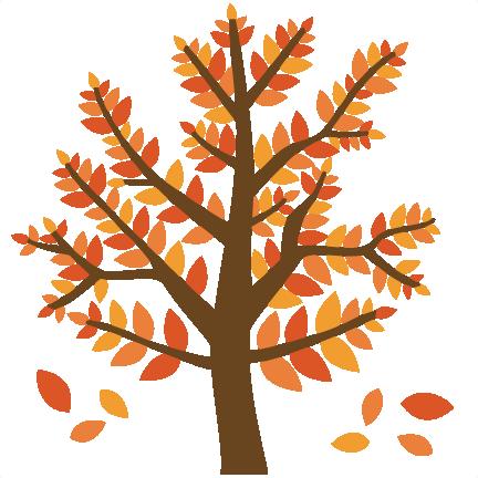 Cute Fall Tree Clipart.