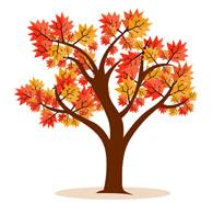 Fall tree clip art free.