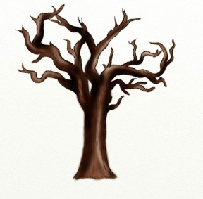 Fall Tree Trunk Clipart.