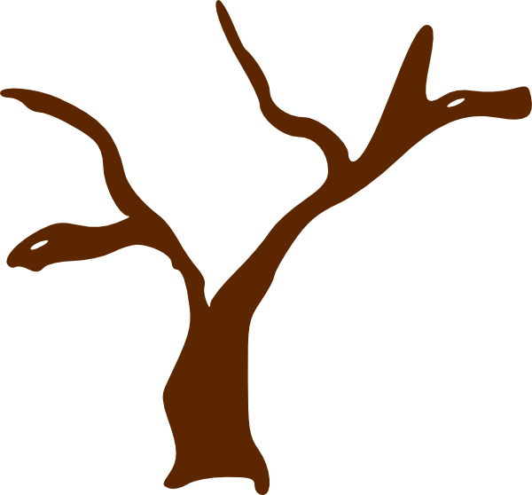 Tree Trunk With Heart Clipart.