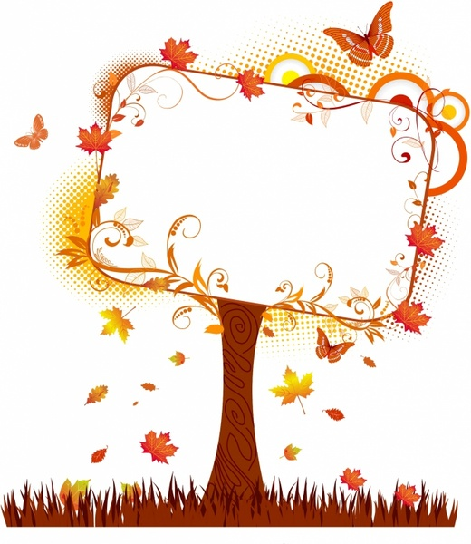 Fall tree vector free vector download (4,881 Free vector) for.