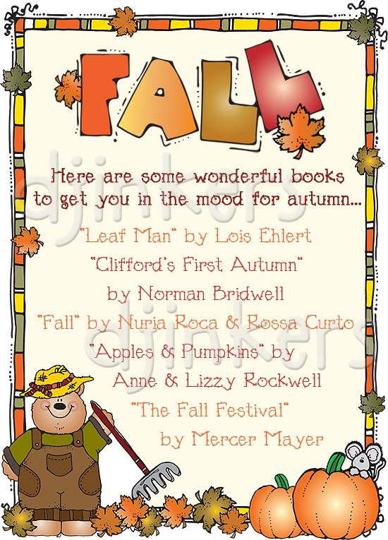 Weather Bears clip art for Fall created by DJ Inkers.