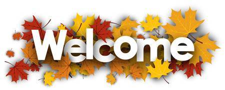 Fall welcome clipart » Clipart Portal.
