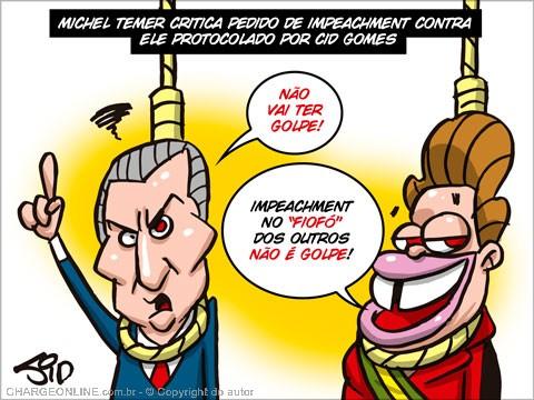 Pergunta inquietante: Temer será a Dilma amanhã?.