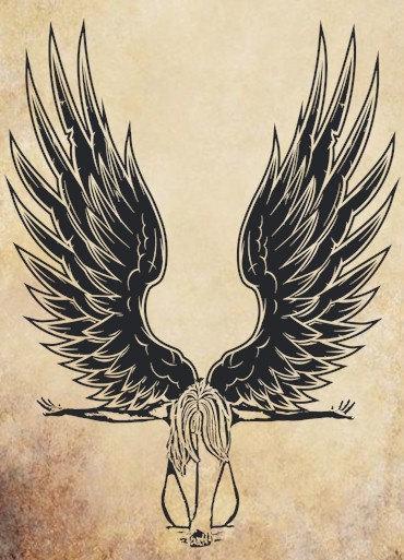 fallen Angel Woman clipart png clip art Digital graphics Image.