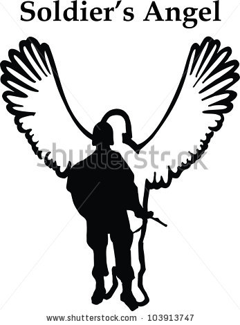 Fallen Angel Silhouette Free Clipart Clipground