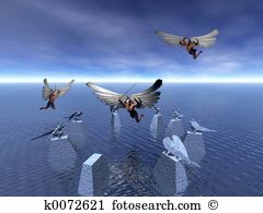 Fallen angel Illustrations and Clip Art. 120 fallen angel royalty.