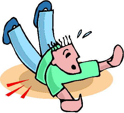 boy falling down clipart - Clipground