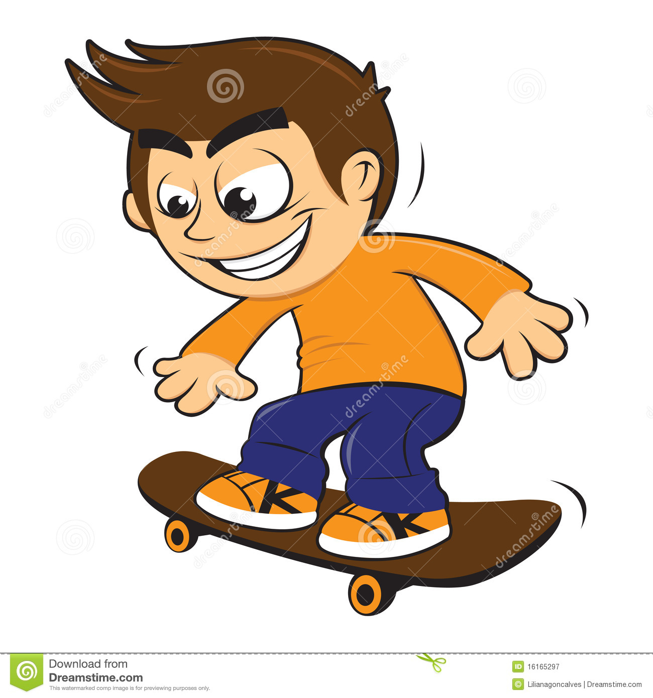 Showing post & media for Cartoon people skating falling.