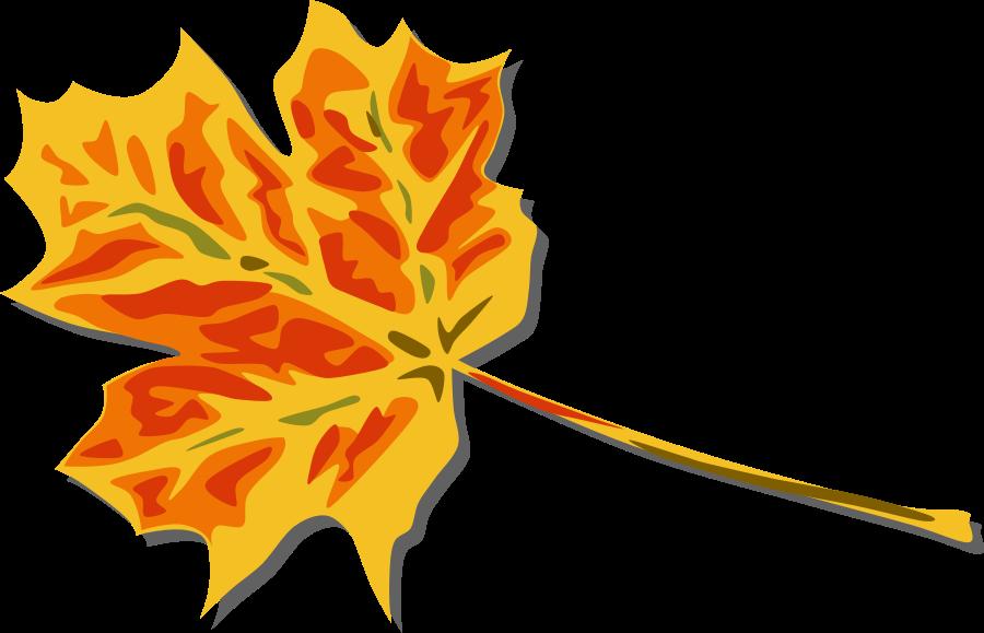Falling Leaves Clip Art.