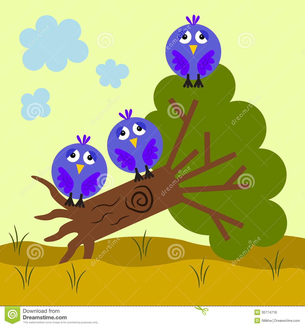 Fallen Tree Royalty Free Stock Image.