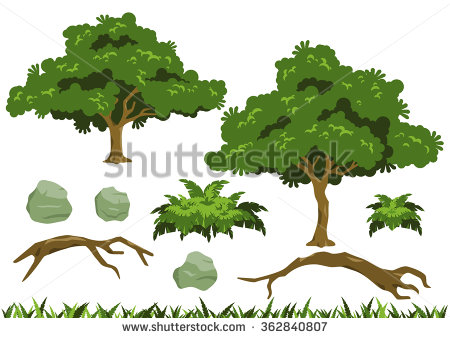 Fallen Tree Stock Vectors, Images & Vector Art.