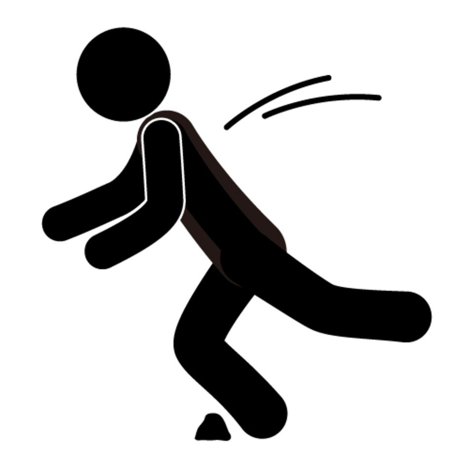 Person Falling Clip Art free image.