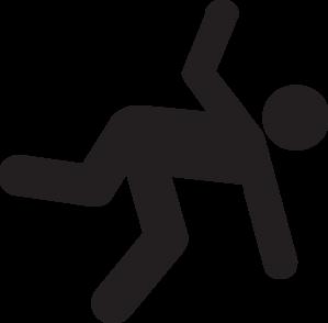 Woman Falling Clipart.