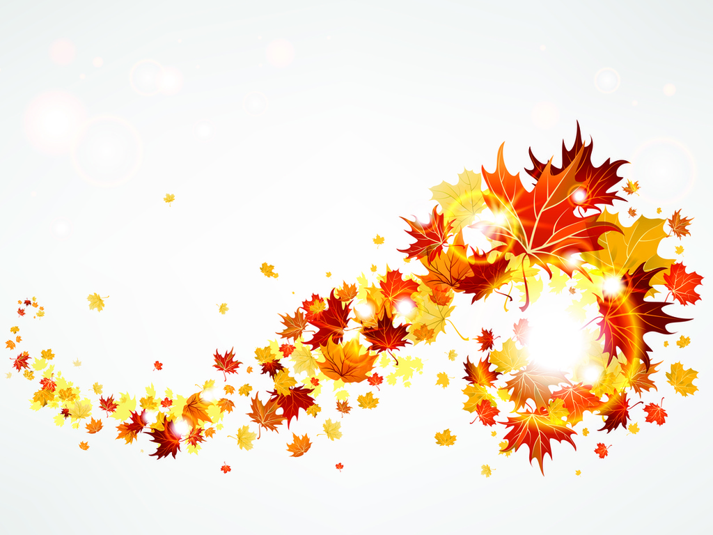 Falling leaves clipart free.