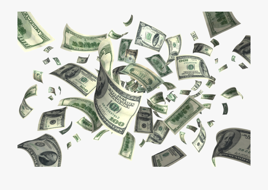 Falling Cash Money Png Download Image1 Vector, Clipart,.