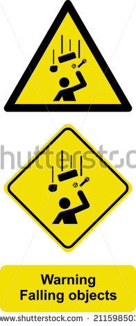 Falling objects sign free vector download (10,433 Free vector) for.
