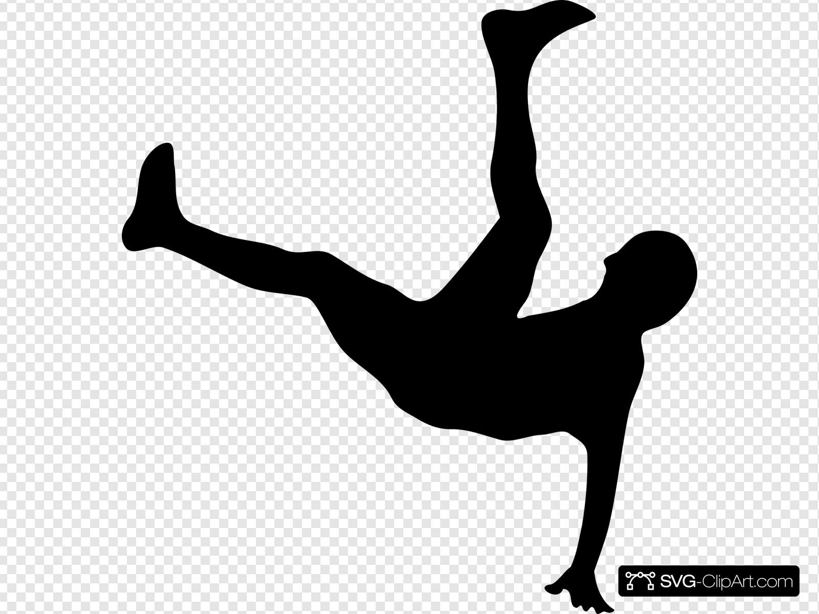 Man Falling Clip art, Icon and SVG.