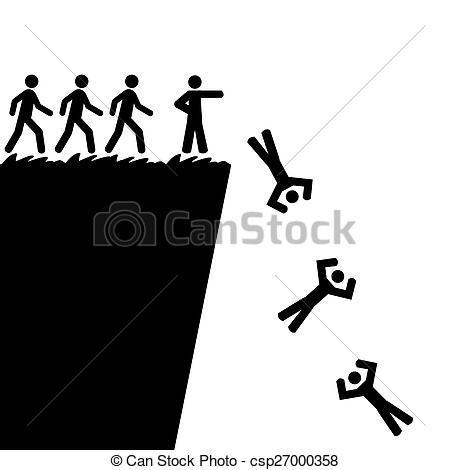 Falling off a cliff clipart » Clipart Portal.